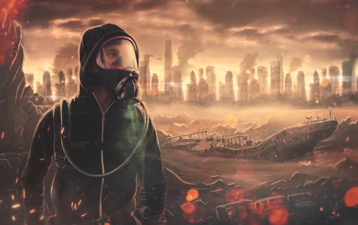 Страшна книга - Безлюдна Земля
